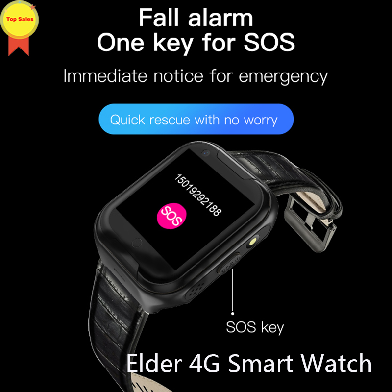 New Product HD touch screen Smart phone Watch Kids GPS Watch Tracker SOS GPS Watch Elderly fall down alarm 4G watch voice chat