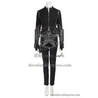 Agents of S.H.I.E.L.D. Cosplay Costume Quake Daisy Johnson Costume Black Jacket Outfits Full Set Uniform Fashion Fast Shipping