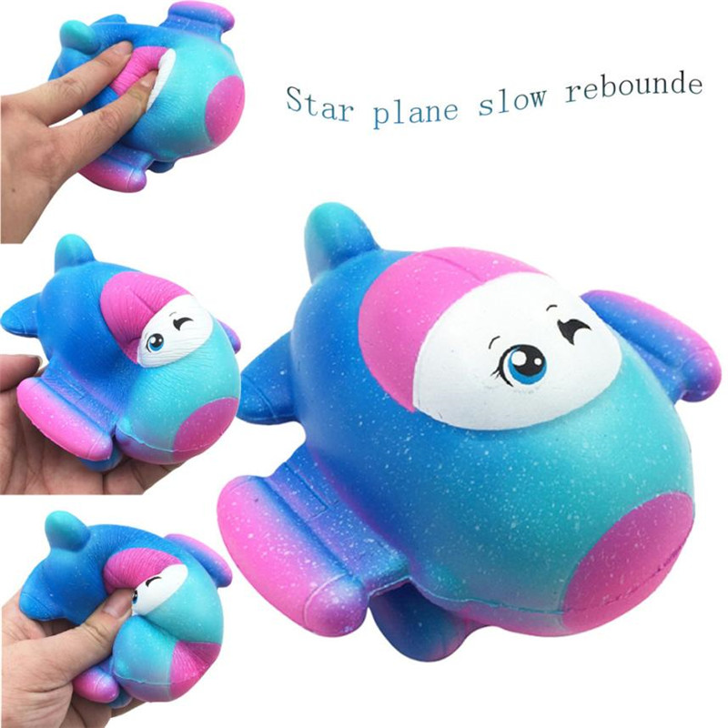 Star Plane Slow Rising Collection Scented Squeeze Toy Squishy Anti Stress Fun Funny Gadget Interesting Toy Kid Gift Decoration30