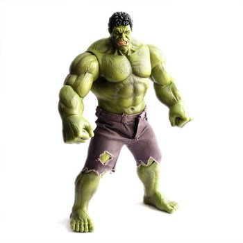 The avengers Movable joint hulk doll model 26cm a gift for students