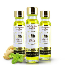 24ml PACHAYA Herbal oil Refreshing Influenza Cold Headache Dizziness Muscle Massager Relax Essential Oil headache relief Fatigue