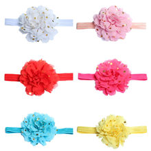 MUQGEW Toddler Lace Bow Flower Hair Band Accessories Newborn Toddler Baby Girls Flowers Headbands Headband Photography Props(China)