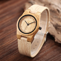 Luxury Brand Women Wood Watch Fashion Simple Style Quartz Wristwatch Vintage Wooden Dial Outdoor Casual Watches