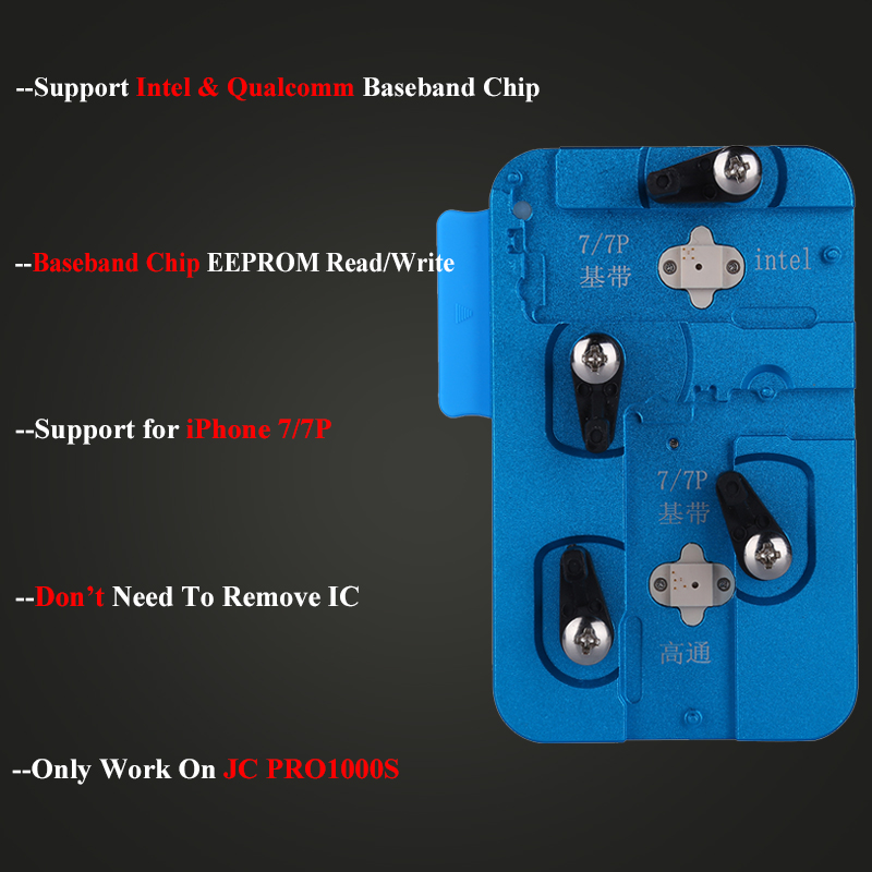 JC PRO1000S Baseband EEPROM IC Chip Programmer Read Write for iPhone 7 7P  EEPROM IC Repair Tools