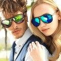 2016 new men clássico colorido sapo óculos óculos de sol homem masculino ao ar livre óculos polarizados óculos de sol das mulheres oculos de sol