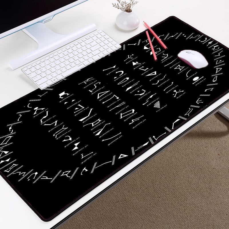 Mairuige Creative Pattern Mousepad STARGATE SG1 Code Symbol Table Mouse Mat 400x900 Big  ...