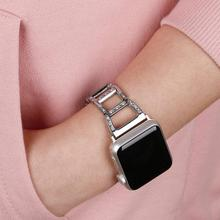 Stainless steel watch Strap for apple watch band 42mm 44mm & for apple watch 4 band 40mm Bracelet for iwatch series 1 2 3 38mm osrui for apple watch band 40mm 44mm 38mm 42mm women diamond band for apple watch 4 3 2 1 iwatch bracelet stainless steel strap
