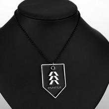 e3f458a3a2c MQCHUN PS4 Game Destiny Fate Necklace HUNTER WARLOCK TITAN Letter Logo  Alloy Pendant Men Jewelry Fans · 2 Colors Available
