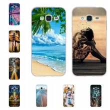 For Samsung Galaxy J3 2016 Case Silicone J320 J320F Cover Love Pattern Pro Capa