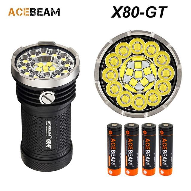 2018 New Acebeam T27 CREE XHP35 HI LED 2500 lumens 1180 meters beam distance 21700 5100mAh