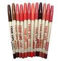 Карандаш для губ 12 Шт./компл. 12 Цветов Crayon Levre Delineador Де Labios Губ Карандаш для Макияжа Инструменты Ляпис Де Бока E Batom