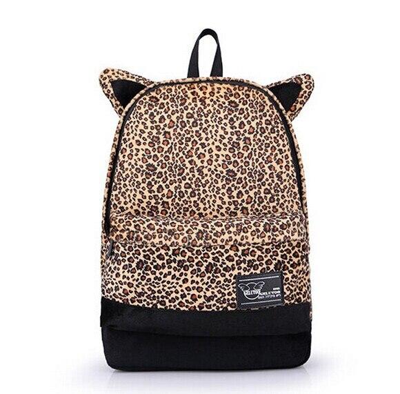 Рюкзак leopard с ушами купить в минске туристический рюкзак