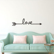 Pink Love Wall Sticker For Living Room Home Decoration Sweet Home Girls Room Bedroom Wall Stickers Mural Wallpaper hot sale welcome sweet home wall sticker for living room