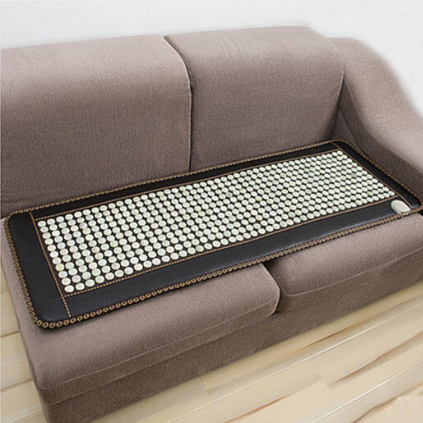 Free Shipping! Best Quality Natural Jade Mat Jade Health Care Cushion Heat Pad  Size 150x50cm High Quality Made in China good quality natural jade mat tourmaline heat chair cushion far infrared heat pad health care mat ac220v 45 45cm free shipping
