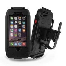 Уникальный Водонепроницаемый Велосипедов Телефон Держатель Телефона Стенд Поддержка для iPhone7 6s Мотоцикл GPS Держатель Поддержка Телефон Moto