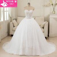 Vestidos דה Noiva סין Alibaba גלימת דה Mariee כדור שמלת חתונת שמלות 2016 תמונה בפועל שמלות כלה ואגלי W8986 בציר