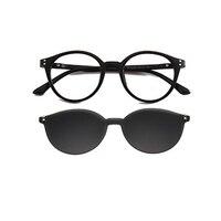 Anti glare Polarizer Car Drivers Night Vision Clip on Driving Glasses Goggles Polarized Copper Alloy Sunglasses Auto Accessories
