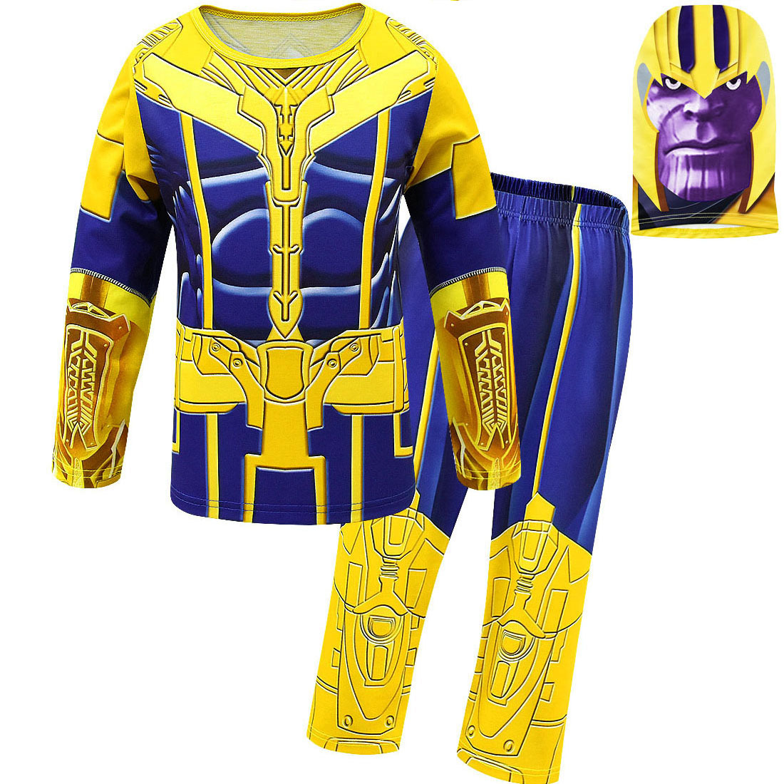 avengers-endgame-thanos-captain-font-b-marvel-b-font-kids-boys-girls-tops-pants-clothes-sets-home-wear-halloween-cosplay-carnival-costumes