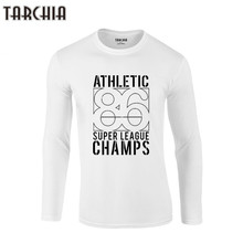 TARCHIA 2019 manga larga impresión T camisa para hombre 100% camisetas de  algodón de verano camiseta niño camiseta Top deportivo. 45bf1c860eaf7