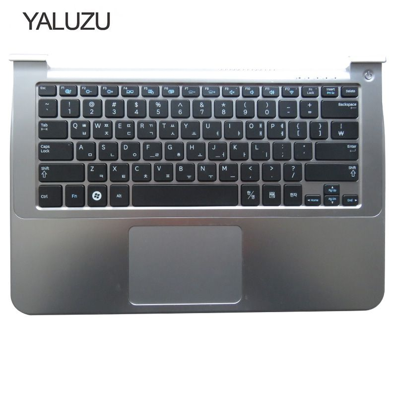 YALUZU laptop keyboard with palmrest for samsung NP900X3A 900X1B 900X1A Korea KR version sliver colorYALUZU laptop keyboard with palmrest for samsung NP900X3A 900X1B 900X1A Korea KR version sliver color