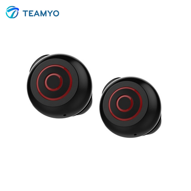 Teamyo TWS-K6 Mini Bluetooth Earphone 18mm small in-ear stereo wireless Headset call Hands-free Earbud with Mic HD Music Player 6 colors mini wireless bluetooth v4 0 earphone q3 in ear stereo voice control earphone call music