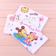 Baby Towels 100 cotton Soft Newborn Bath Towels Washcloth for Bathing Feeding Character baby towel Free