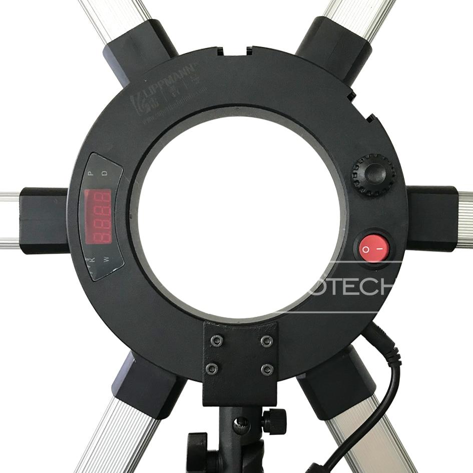 Alumotech 3 Color Temp. DMX512 Lumina led 90W pentru camera video de - Camera și fotografia - Fotografie 5