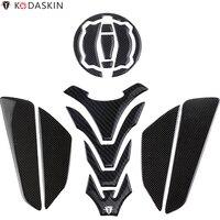 KODASKIN Motorcycle Real Carbon Tank Pad Stickers Decal GRIPPER STOMP GRIPS EASY for KAWASAKI Z900 Z650 NINJA 650 Versys X 300