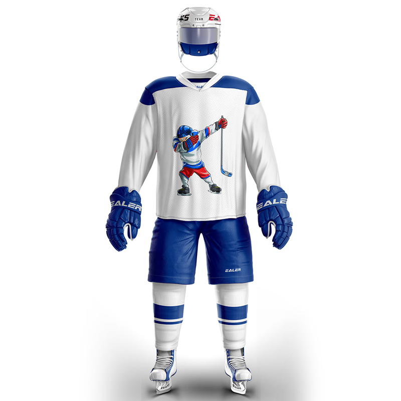 JETS a set suit cheap high quality ice hockey jerseys for Training or Game Spot H6100-20