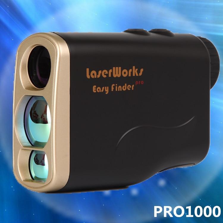 Laser font b rangefinder b font 1000m distance meter binocular telescope speed measure angle measurement hunting