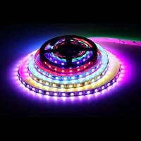 DC 12 V 60 LEDs/M RGB LED tira 5050 WS2811 fiexible 5 m/lote decoración hogar IC direccionable digita llevó la luz tira de cinta de diodo