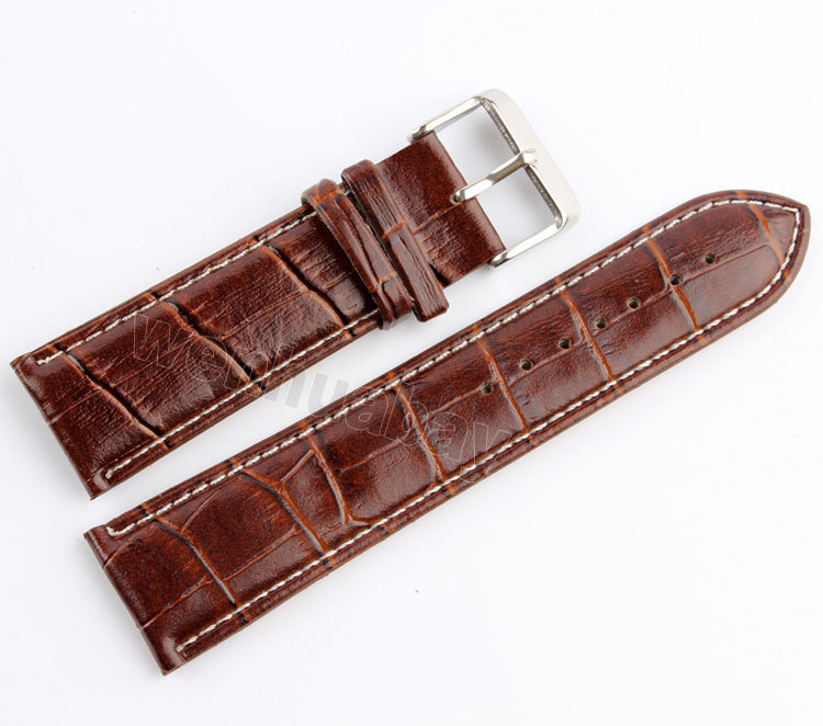 High quality 18mm 20mm 22mm 24mm Soft Leather Strap Steel Buckle Brown Wrist Watch Band sexy one piece swim suits cheap bathing plavky girls may beach long sleeve pants large sports damy badpak badmode traje de bano