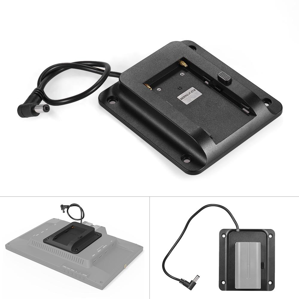 Camera & Photo Temperate Andoer Accessories Battery Adapter Base Plate For Lilliput Monitors Compatible For Sony Np-f970 F550 F770 F970 F960 F750 Battery