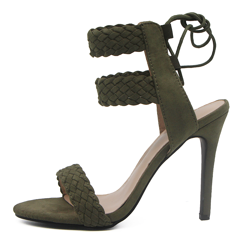 LALA IKAI Ankle Strap Sandals Women (3)