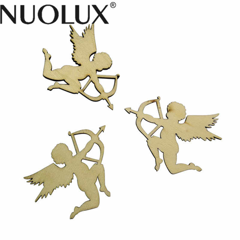 10 Pcs Unfinished Wood Cutout Chips For Board Game Pieces Arts Crafts  Projects Ornaments