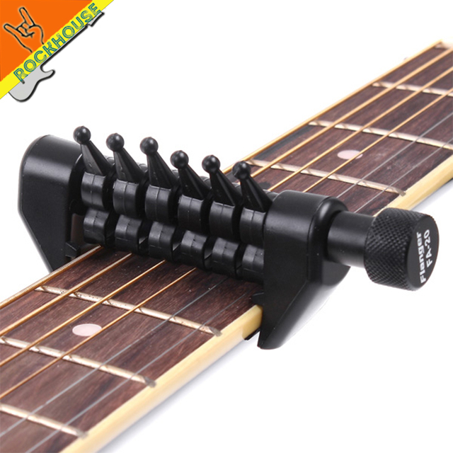 Acoustic Guitar Capo 6 Strings Change The KEY Of Each String Create