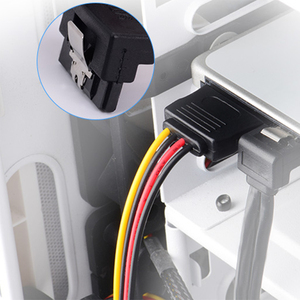 Image 5 - 20cm 15Pin SATA Male to Female 2 SATA Splitter Cable Power Adapter Cord Extension Wire Line for HDD Hard Disk Splitter Connector