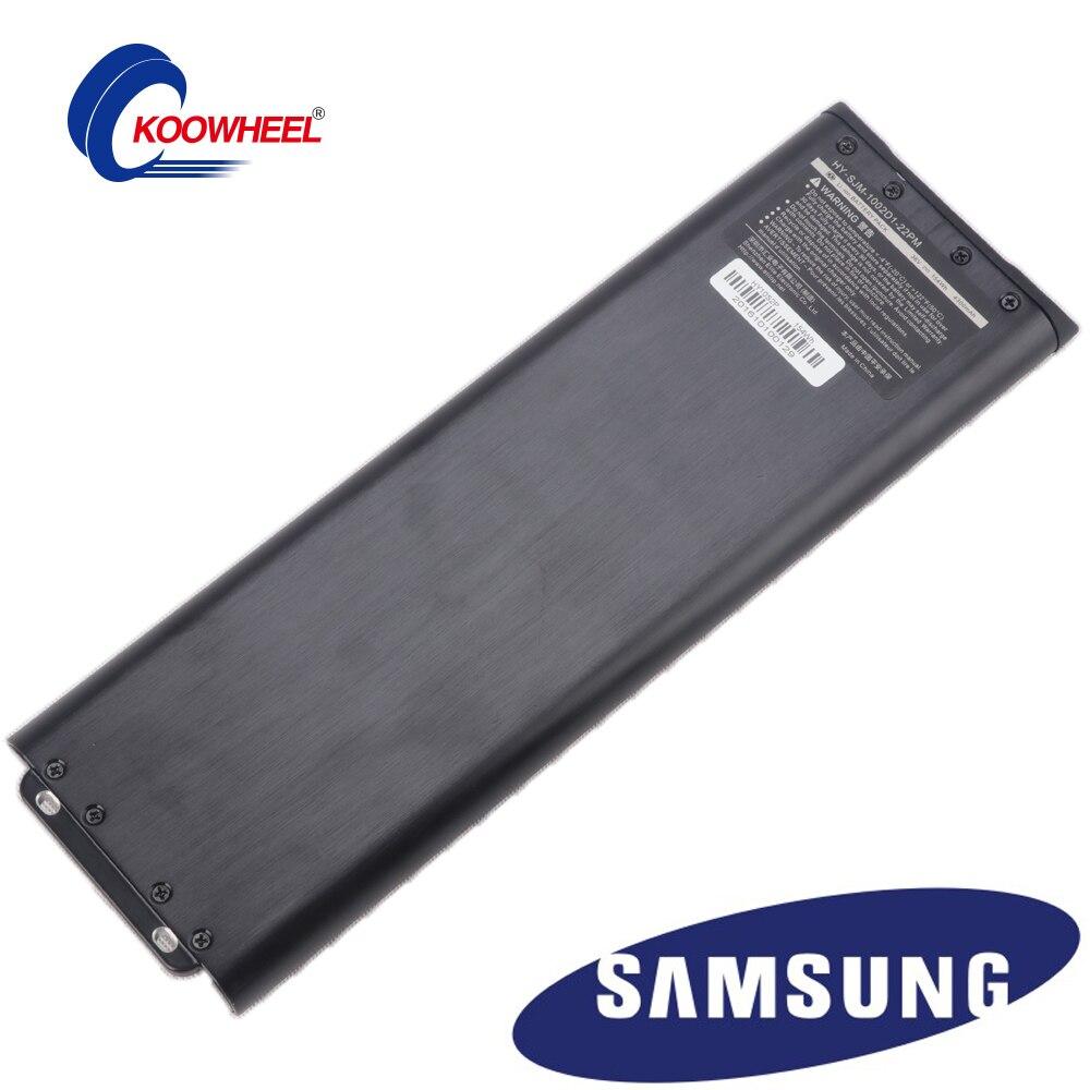 Remplaçable/Pratique/économie d'énergie longboard batterie 18650 Taux élevé Samsung 4300 mah Batterie Au Lithium pour Planche À Roulettes Électrique