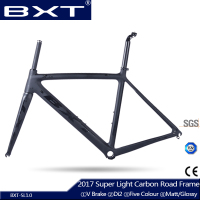 2017 BXT Full Carbon Frame Bicycle Carbon Road Frame Super Light Internal Cabling Cadre Carbone Chinese