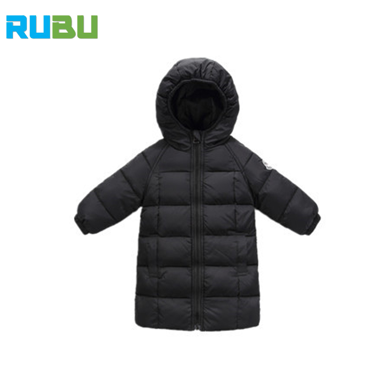 2017 Fashion Boy Girl Winter Down Jackets Children Coats Warm Baby Duck Down Kids Outerwears For Cotton Hooded Clothing JSB358 rabbit style cashmere style three finger capacitive screen touching hand warmer gloves beige