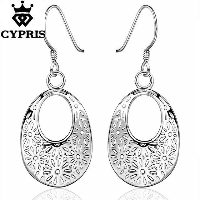 Super Deal SUPER DEAL wholesale retail silver earrings chic fashion ...