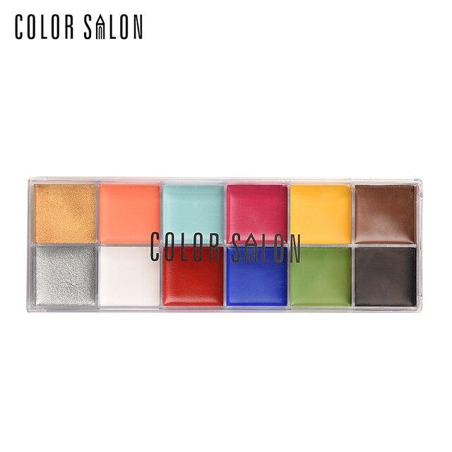 Color Salon Face Paint Non toxic Body Painting Festival Makeup ...