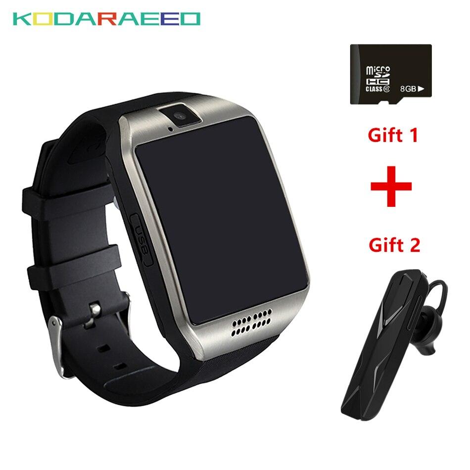 S1 Smart Uhr Mit Kamera Facebook Whatsapp Twitter Sync SMS Q18 Bluetooth Smartwatch Unterstützung SIM TF Karte Für IOS Android