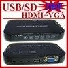 Gift Free Shipping Car Media Player USB Full Hd 1080p HDD Media Player Hdmi VGA MKV