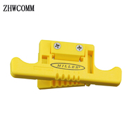 High quality Miller MSAT 5 Loose Buffer Tube Stripper/Mid Span Access Tool 0.9mm to 3.0mm Fiber Optical Stripper