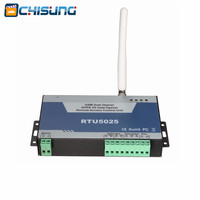2pcs/lot Remote open/close swing/sliding gates Access Control Unit 999 users RTU5025 3G Door gsm gate opener