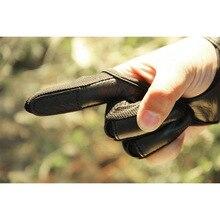 Новая Защитная перчатка для стрельбы из лука 3 Защита для пальцев протектор для изогнутого комбинированного лука XD88