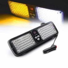 Car led bar 12 volt led lighting  12 Modes 86 LED Emergency Warning Car Auto Visor Police Strobe Light