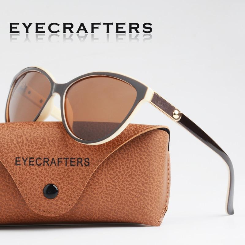 Luxo HD Polarized Mulheres Óculos De Sol Moda Feminina Do Vintage Marca Designer Cat Eye Óculos Mulher Óculos de Sol Feminino oculos