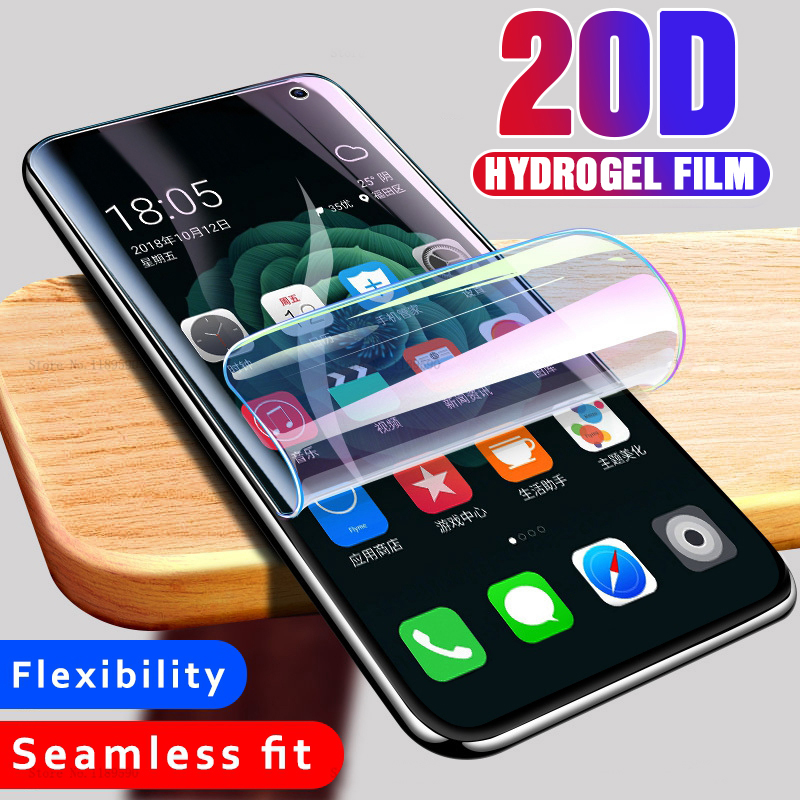 Image 5 - 20D Full Curved Hydrogel Film For Samsung Galaxy S10E S9 S8 S10 Plus Safety film For Samsung S7edge Note 8 9 Film Not Glass-in Phone Screen Protectors from Cellphones & Telecommunications